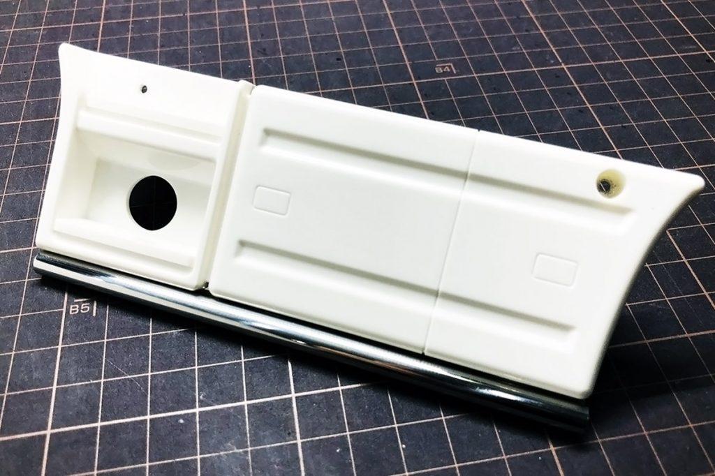 タミヤ1/14 SCANIA用 ステンレスサイドパイプバンパー