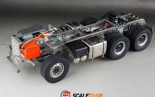 Scale Club社 SCANIA R620 フルメタルシャーシキットの紹介です♪