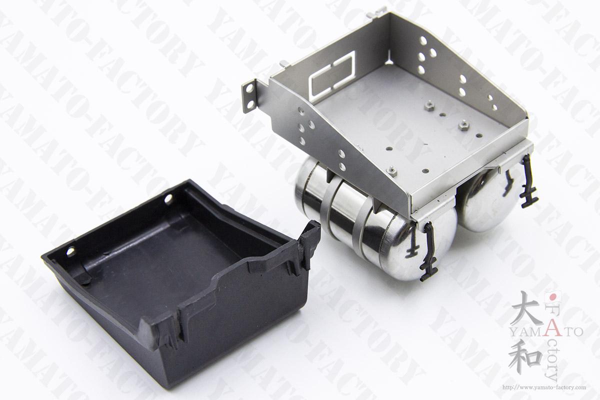 SCANIA バッテリーボックス&エアボトル